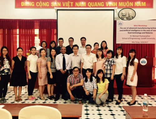 Dr Michael Packianather invited to give a special talk at Nha Trang University