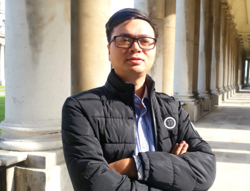 Dr. Van Duy Nguyen came to University of Greenwich for Academic Visiting